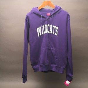 Wildcats Campus Heritage Collection Purple Large